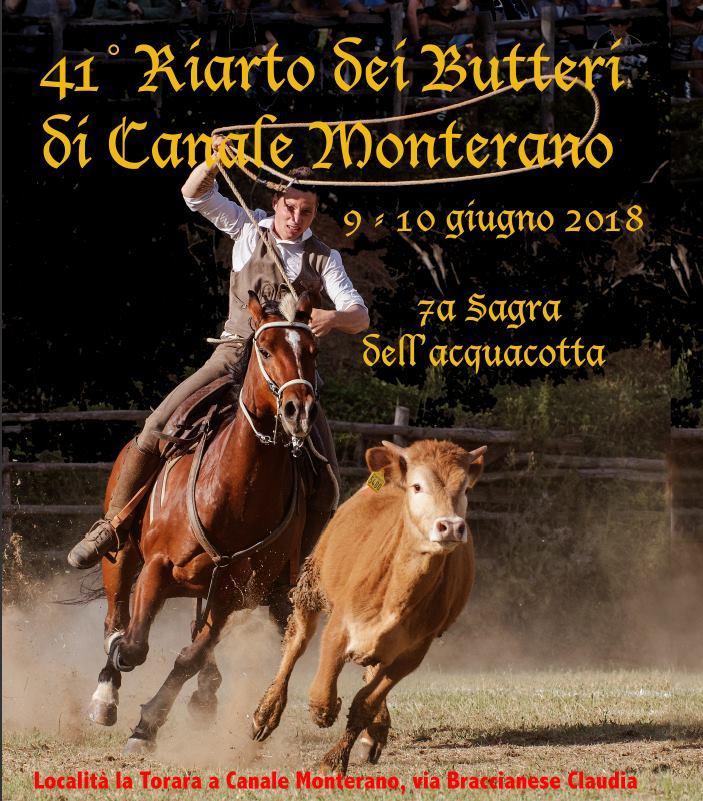 Riarto dei Butteri - Canale Monterano