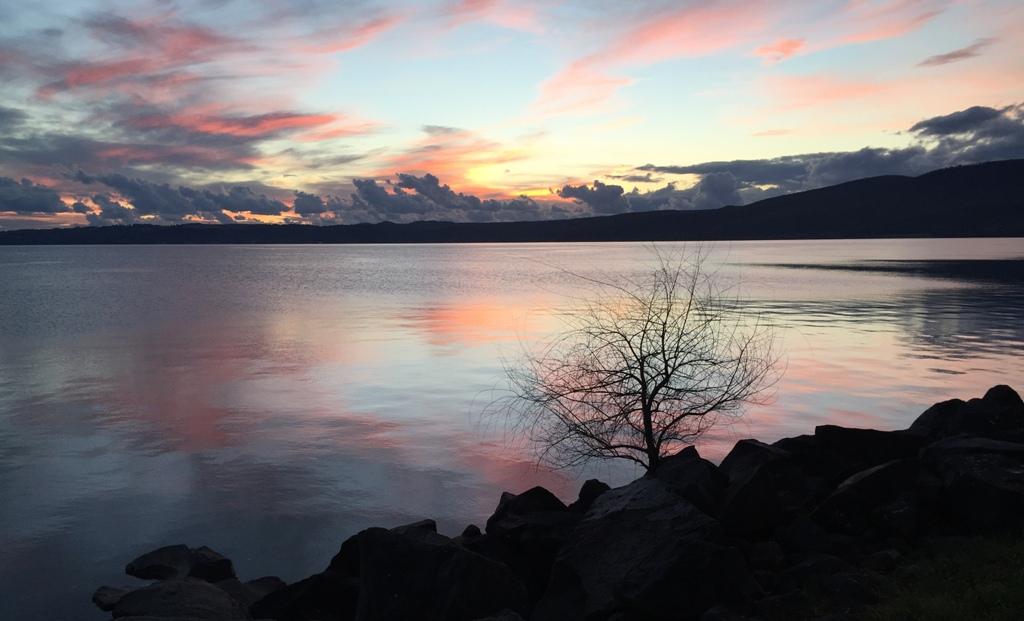 Lake Bracciano Sunset