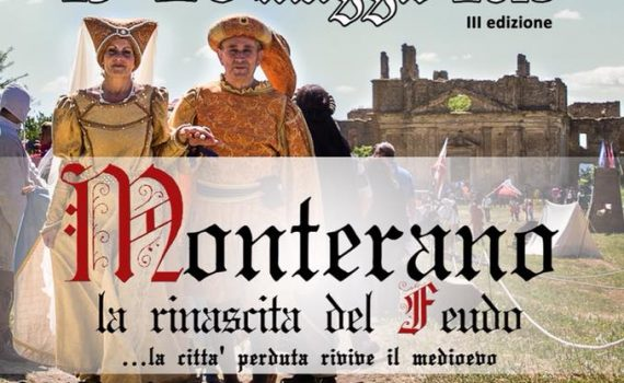 Feudo Reinessance tradition event in Canale Monterano